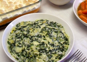 Healthy Easy Spinach Artichoke Dip