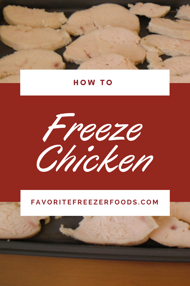 How to freeze chicken, raw or cooked, to save time and money. Frozen cooked chicken is a huge time saver for a busy family.