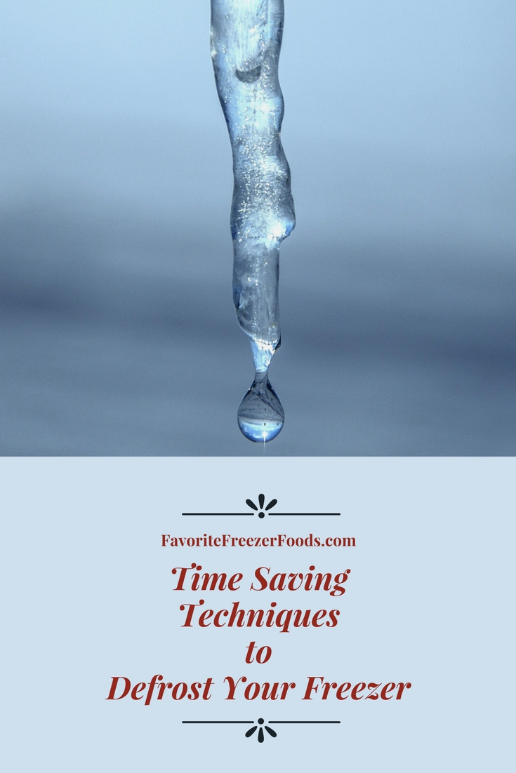 Social friendly graphic with a single water drop dripping off an icicle and the words