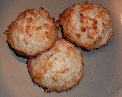 Macaroons, Coconut cookie