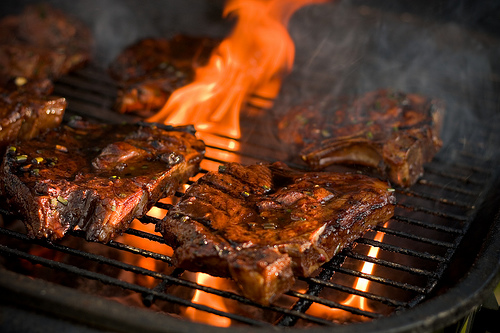 Marinade recipes, grilled marinated steak.