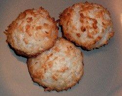 Macaroons, Coconut cookie