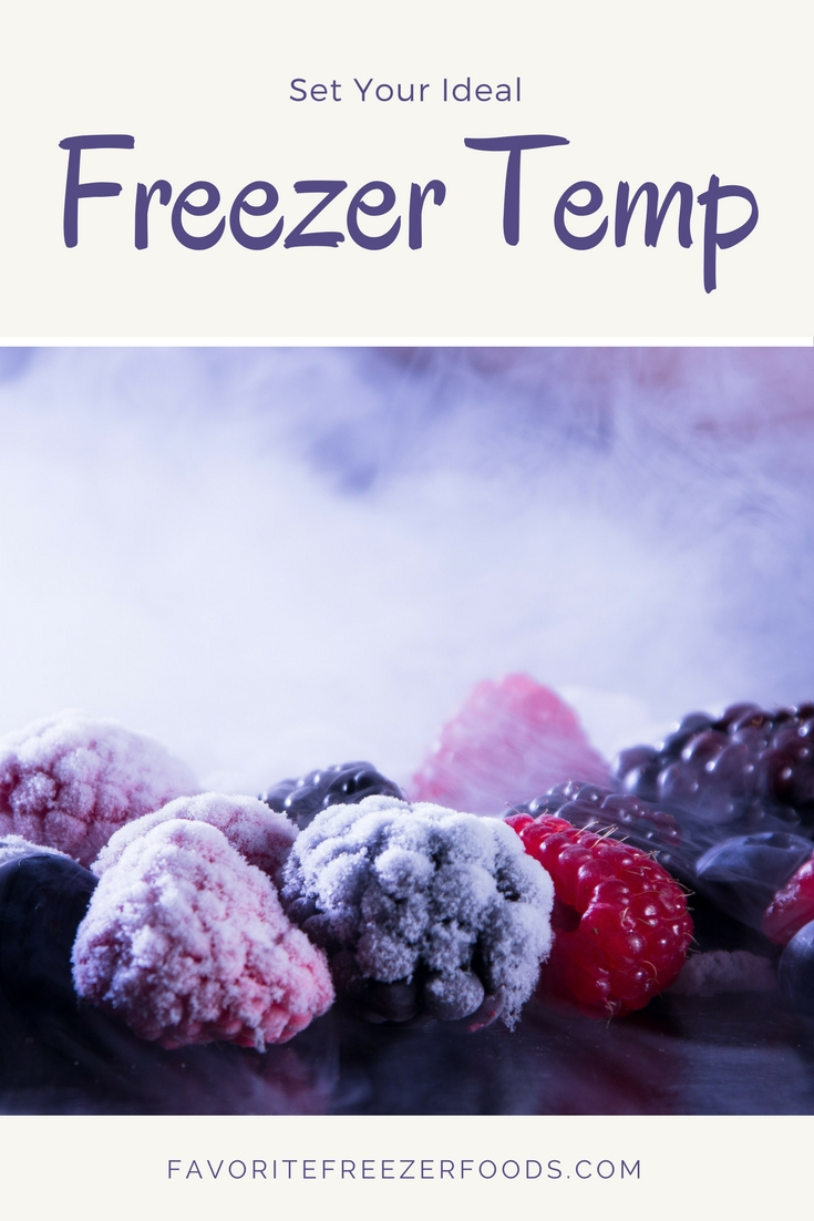 Find the ideal freezer temperature for freezing and for storing food.